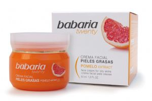 Babaria Aloe Vera & Grapefruit Face Cream for Oily Skin 50ml | Mia Beauty Ltd